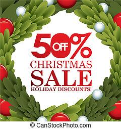 christmas sale design - christmas sale graphic design , ...