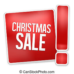 Christmas Sale red icon design