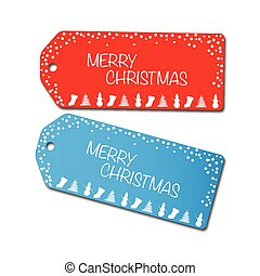 Christmas Sale Tags Illustration