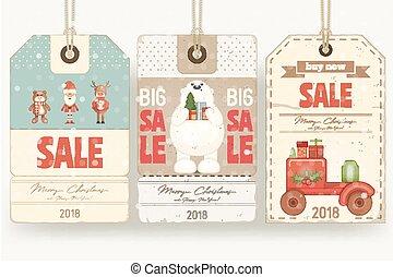 Christmas Sale Tags