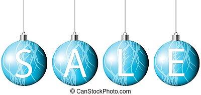 Christmas sales symbol