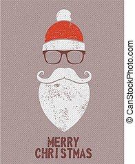 Christmas Santa background