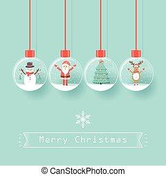 Christmas Santa Claus background