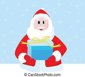 Christmas Santa Claus gift