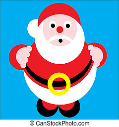 Santa Claus - christmas. Santa Claus Vector Illustration...