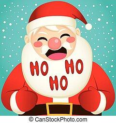 Christmas Santa Laughing