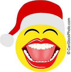 Christmas Santa Smiley