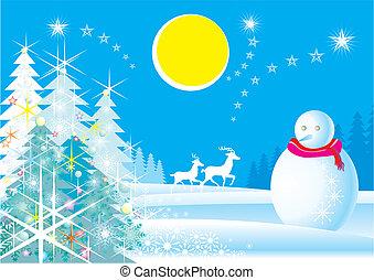 Christmas Scenic