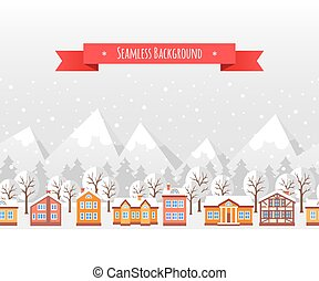 Christmas seamless backgound