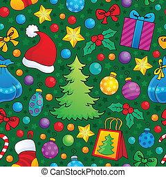 Christmas seamless background 2 - eps10 vector illustration.
