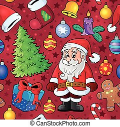 Christmas seamless background 7