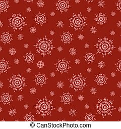 Christmas seamless background .