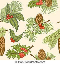 Christmas seamless background