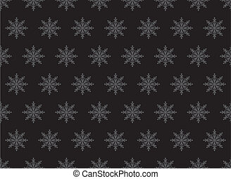 Christmas seamless background with snowflake, element for...