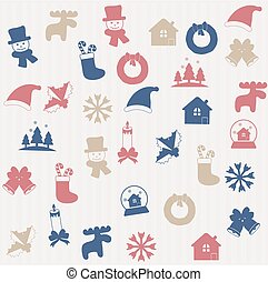 Christmas seamless pattern 2