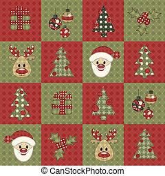Christmas seamless pattern 7 - Christmas seamless pattern. ...
