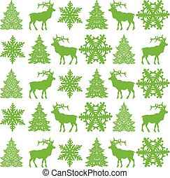 Christmas seamless pattern design -