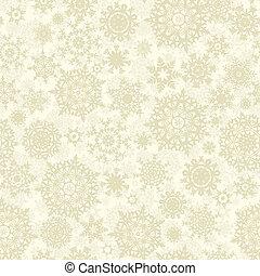Christmas seamless pattern snowflake. EPS 8