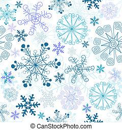 Christmas seamless pattern (vector)