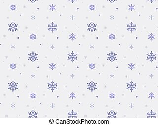 Christmas seamless pattern with snowflakes.