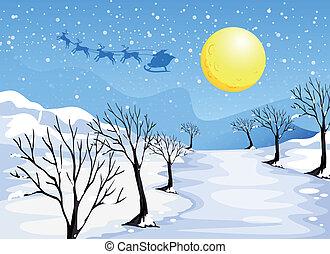 Christmas season - Illustration of a christmas season
