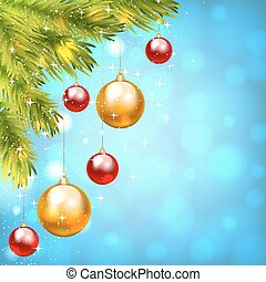 Christmas shiny card