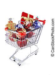 Christmas shopping for fun