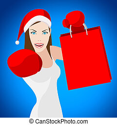 Christmas Shopping Indicates Retail