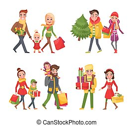 Christmas Shopping, Preparation to Winter Holidays