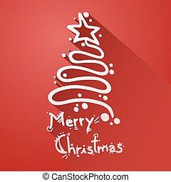 christmas sign - Creative design of christmas sign