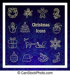 Christmas Signs Set