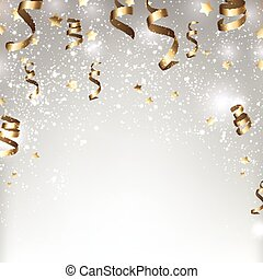 Christmas silver abstract background. - Silver winter...