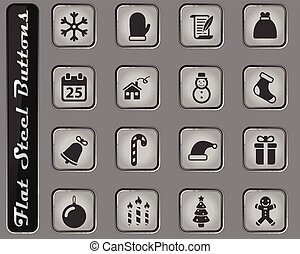 Christmas simply icons
