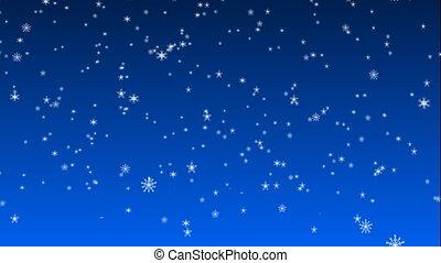 Christmas snow 02