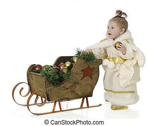 Christmas Snow Princess