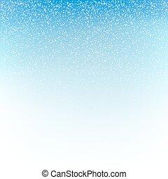 Christmas snowfall background. Vector illustration.