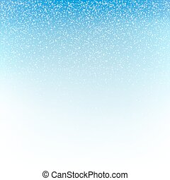 Christmas snowfall background. Vector illustration.