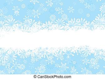 christmas snowflake blue