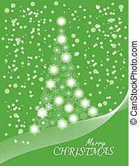 christmas snowflake tree