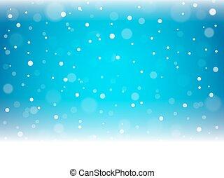Christmas snowflakes and snowdrift. - Christmas snowflakes...
