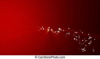 Christmas snowflakes bumper