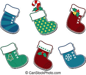 christmas socks cartoon
