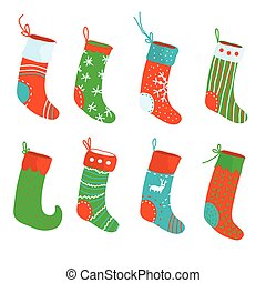 Christmas socks funny set