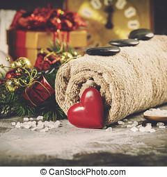 Christmas spa concept