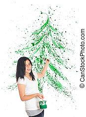 Christmas Splatter