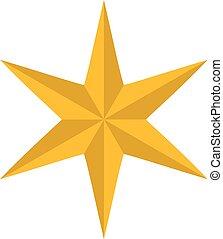 Christmas star icon