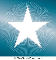 Christmas. Star Vector Illustration - Christmas greeting...