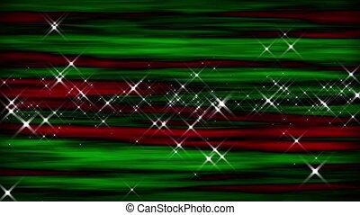 Christmas Starburst Abstract Loop