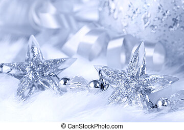 Christmas Stars - Sparkling crystal star-shapes, with...