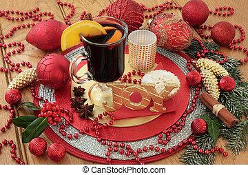 Christmas Still Life Scene